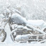 What do I do with my motorcycle during the winter?